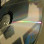 CD mit regenbogen
