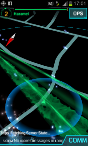 Ingress Android-GUI